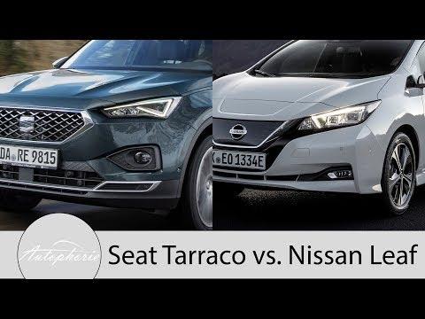 Seat Tarraco Voll-LED-Scheinwerfer vs. Nissan Leaf LED-Scheinwerfer Pro und Contra [4K] - Autophorie