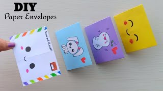 DIY Origami Envelopes! How To Make Mini Origami Envelope / Origami Emoji Envelope / Origami Craft
