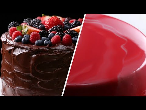 5 Mesmerizing Cake Recipes To Bake For A Birthday Party • Tasty