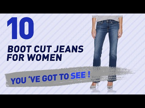 Boot Cut Jeans For Women // The Most Popular 2017