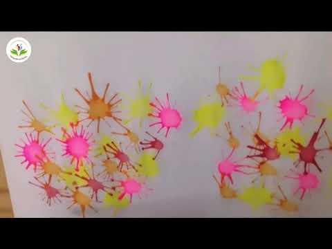 HĐ TH: Thổi màu tạo bức tranh vườn hoa