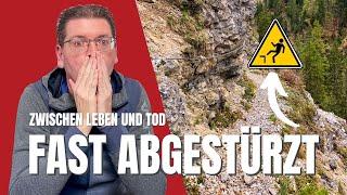 Ausgerutscht! Beinahe tödlicher Bergunfall im Tannheimer Tal