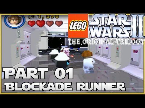 LEGO Star Wars II: Original Trilogy (DS) - Part 1: Blockade Runner