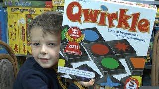 Qwirkle (Schmidt) - Spiel des Jahres 2011- ab 6 Jahre - und man spielt es heute noch sehr gerne!