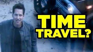 AVENGERS ENDGAME Ant-Man Time Travel Explained!