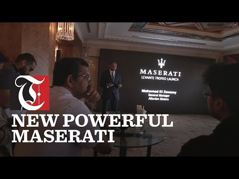 Omani premiere of the powerful new V8 Maserati Levante Range