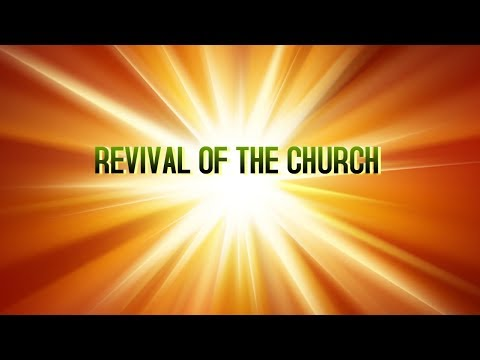 REVIVAL OF THE CHURCH | MESSAGE BY BRO. VINCENT SELVAKUMAR