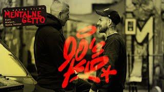 Kadr z teledysku MENTALNE GETTO tekst piosenki DJ Decks X Śliwa ft. Małach, Kasia Tontor