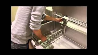 Multi function tilting bratt pan