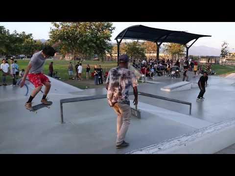 Etnies X Chris Joslin mini series at ferguson skatepark 9/6/17 (raw clips)