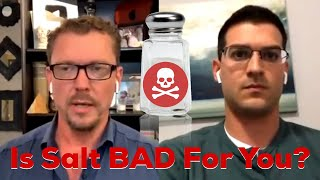 Is Salt BAD For You? Dr DiNicolantonio, Author: The Salt Fix and Super Fuel