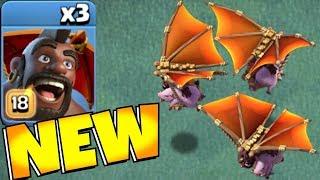 "NEW!! Hog Glider MAX lvl 18!! ""Clash Of Clans"" Gem to MAX!"