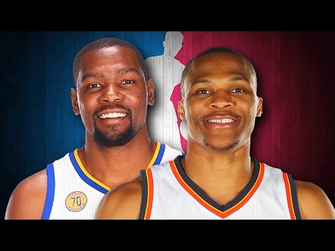 Kevin Durant vs Russell Westbrook. Epic Rap Battles of NBA History.