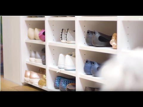 schrankwerk.de - Schuhschrank Ideen: nach Renovierung musste Platz für die Schuhe her! #schrankwerk