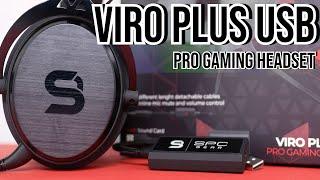 VIRO PLUS USB PRO GAMING HEADSET im Test - Was taugt die 7.1 USB Soundkarte? - Testventure