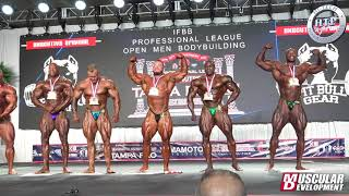 Final Awards Mens Open Bodybuilding: 2020 Tampa Pro