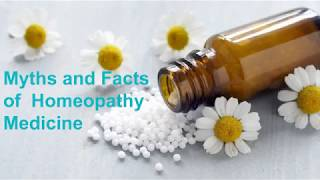 Homeopathy Medicine Myths and Facts - By Dr Me