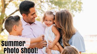 FAMILY PICS REVEALED! / LIFE AS WE GOMEZ SUMMER FAMILY PHOTOS IN A STUNNING LOCATION!