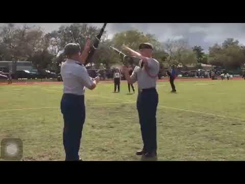 West Broward Dual Exhibition South Florida Hollywood Hills High 2018 Drill Meet