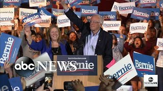 Bernie Sanders delivers speech after projected win in Nevada caucuses
