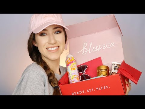 BLESS BOX UNBOXING | FIRST IMPRESSIONS + REVIEW | ALLIE G BEAUTY