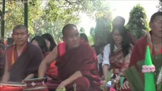Dakinis' Leymon Tendrel Tsok Lu on Feb  18 2011 in Bodhgaya