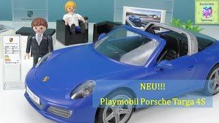 PLAYMOBIL 5991 Porsche 911 Targa 4S Auspacken ♡ Playmobil Geschichten Und Spielzeug