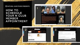 How to Schedule Your N Club Member Appointment