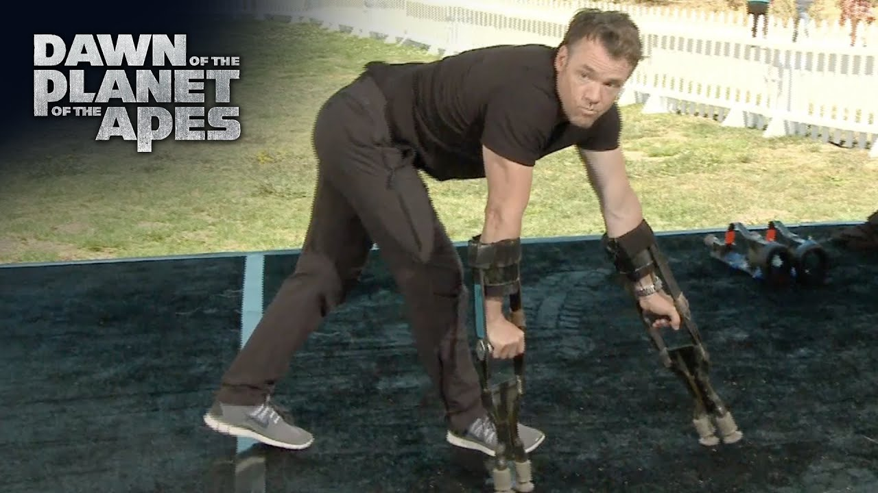 Terry Notary: Apes Movement Demonstration