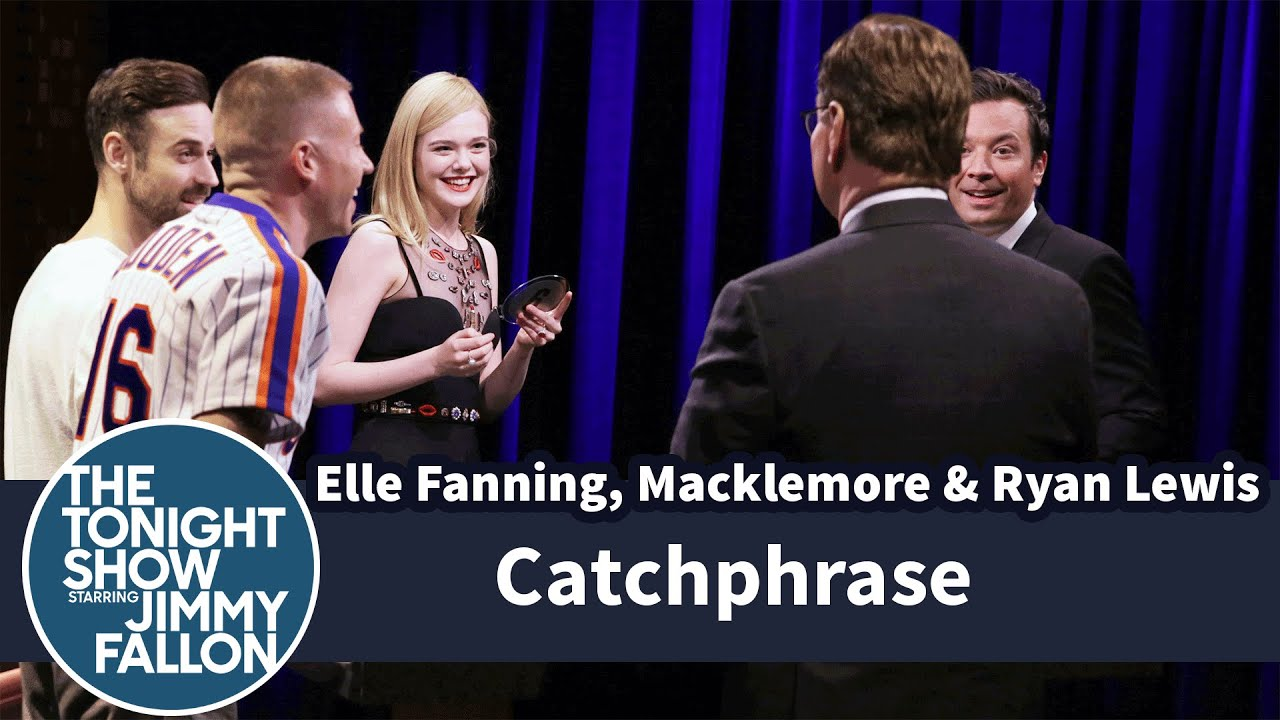 Catchphrase with Elle Fanning and Macklemore & Ryan Lewis thumbnail