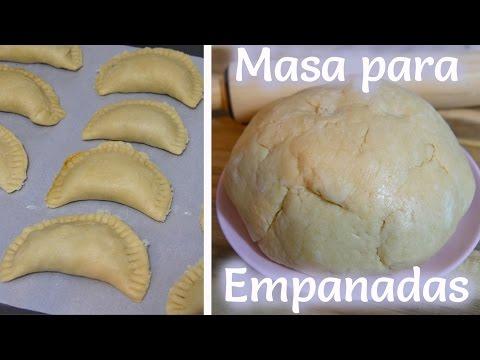Masa Para Empanadas (Saladas) - Mi Cocina Rápida