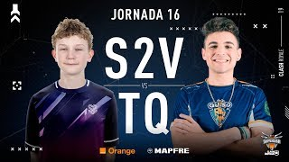 S2V Esports VS Team Queso | Jornada 16 | Temporada 2018-2019