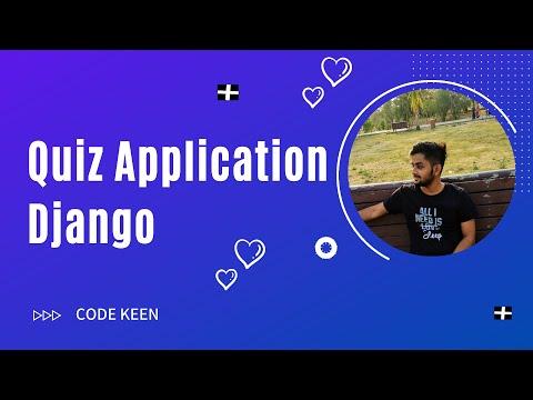 Create a Quiz Application in Django - Pyaar Mohabbat Quiz App | Part 2 thumbnail