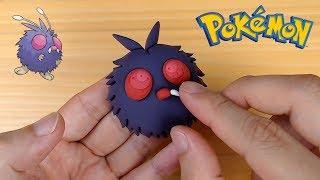 Venonat  - (Pokémon) - Too big eyes! Making Venonat (Pokémon) in Clay step by step