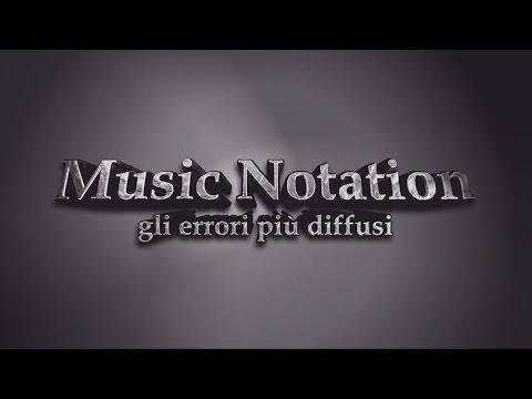 Notazione musicale  - gli errori più diffusi