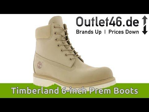 Timberland 6 Inch Echtleder Boots l NIE MEHR KALTE FÜßE l DEUTSCH l Review l On feet l Outlet46.de