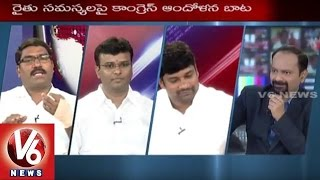 Good Morning Telangana | Special Discussion on Daily News | Telangana Farmers Suicides | V6 News