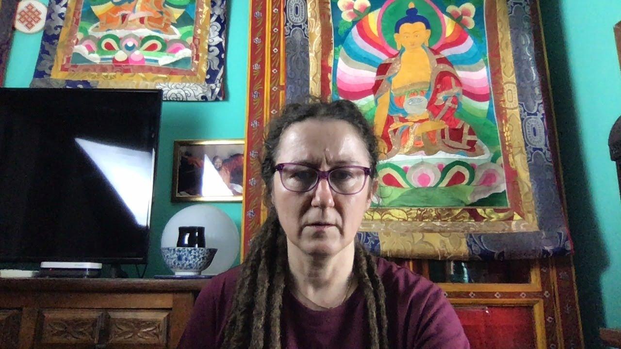 Lama Gangchen Tantric Self-Healing 2- Commentary by Lama Caroline - part 41 (EN)