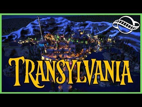 TRANSYLVANIA!: Halloween Theme Park! Park Spotlight 168 #PlanetCoaster
