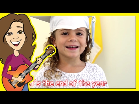 Graduation Song Thank you for kids, children & babies with lyrics  | Patty Shukla
