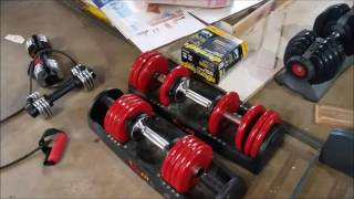 Powerblock vs. Ironmaster vs. Bowflex vs. Vivafit - Dumbbell Review