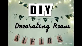 DIY | Decorating Ideas | Hiasan Kamar Tumblr