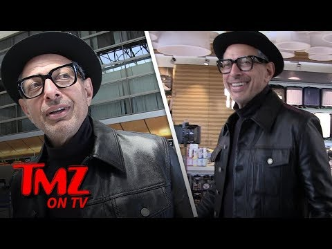 [TMZ] Jeff Goldblum's Swag Is On Another Level
