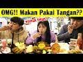 LAHAP ORANG KOREA KULINERAN INDONESIA PAKAI TANGAN lalapan ayam gurami dll I 손으로 인도네시아 음식 먹기