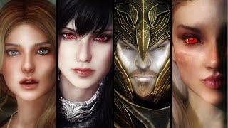 Skyrim - Top 5 Best Mods for Beautiful Characters | 2018 Edition