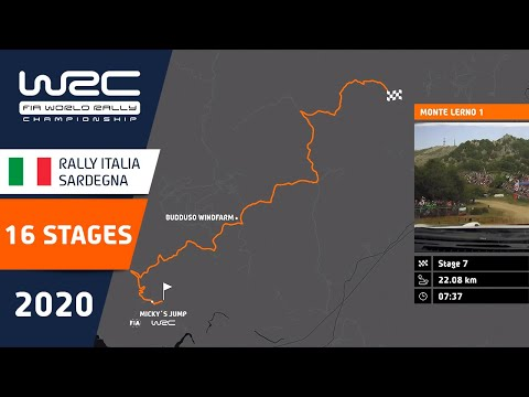 全16ステージコース紹介動画。WRC ラリー・イタリア・サルディニアの全SS16のコースを詳細に説明。レース前に見ておきたい動画