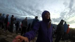 preview picture of video 'Dawn at Poon Hill - Annapurna, Nepal'