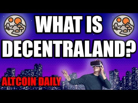 What is Decentraland? Second Life Killer??  [Crypto/Altcoin Deep Dive]