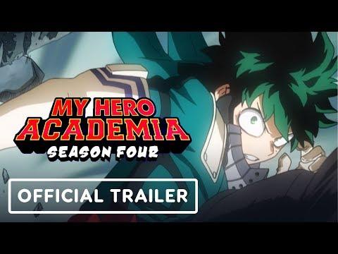, title : 'My Hero Academia Season 4 Official Trailer (English Dub Reveal) Exclusive - Comic Con 2019'