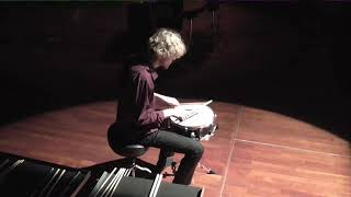 Meditation No. 1 for solo snare drum – Casey Cangelosi